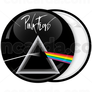 Κονκάρδα Pink Floyd dark side of the moon with logo