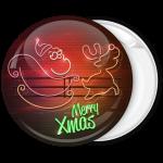 Κονκάρδα Merry Xmas Santa