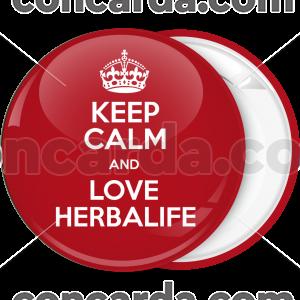 Κονκάρδα Keep Calm and Love Herbalife