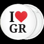 Κλασσική κονκάρδα I Love GR