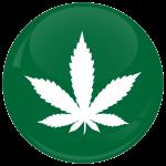 Κονκάρδα μαριχουάνα σύμβολο πράσινη