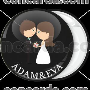 Kονκάρδα γάμου Couple όρκοι αγάπης