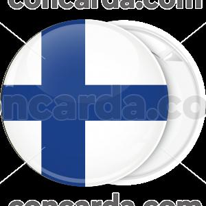 Κονκάρδα σημαία Φιλανδίας