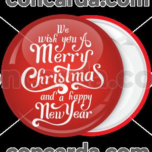 Κονκάρδα Merry Christmas the big wish