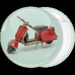 Κονκάρδα βέσπα κόκκινη vintage φόντο