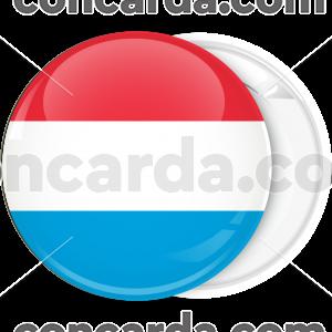 Κονκάρδα σημαία Λουξεμβούργου