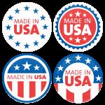 Σετ κονκάρδες Made in USA