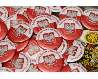 Σχολικές κονκάρδες Πολωνικό σχολείο Ηράκλειο Κρήτης