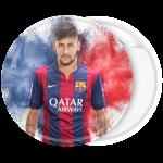 Αθλητική κονκάρδα Neymar κόκκινο μπλε
