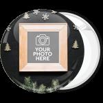 Κονκάρδα Χριστουγεννιάτικο Photo booth snow black