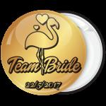 Kονκάρδα φλαμίνγκο χρυσή κολεξιόν Team Bride