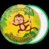 Κονκάρδα παιδικού πάρτυ happy monkey