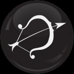 Κονκάρδα Ζώδια Τοξότης black collection