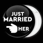 Κονκάρδα για bachelor γαμπρού Just Married Her