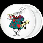 Κονκάρδα White Rabbit courtier hearts πράσινο Αλίκη στη χώρα των θαυμάτων