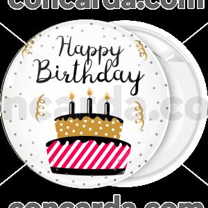 Κονκάρδα Happy Birthday cake