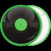 Κονκάρδα βινύλιο πράσινο