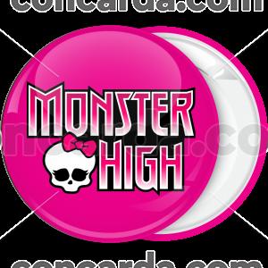 Κονκάρδα Monster High logo φούξια
