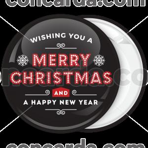 Χριστουγεννιάτικη Κονκάρδα Led Merry Christmas