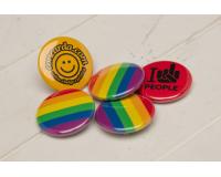 Διαφημιστικές κονκάρδες Rainbow