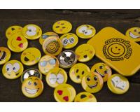 Κονκάρδες παιδικού πάρτυ Smiley