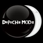 Κονκάρδα Depeche Mode μαύρη
