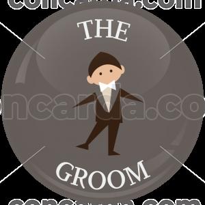 Κονκάρδα γάμου The groom