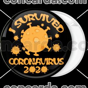Κονκάρδα I survived Coronavirus 2020