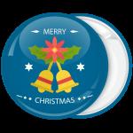Κονκάρδα Χριστουγέννων Merry Christmas bells