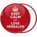 Κονκάρδα Keep Calm and Love Herbalife