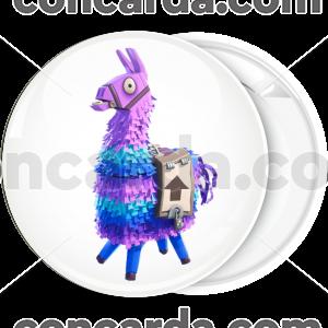Κονκάρδα Fortnite Llama λευκή