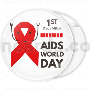 Κονκάρδα World Aids Day cartoon