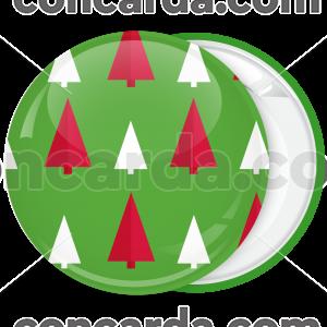Κονκάρδα Χριστουγεννιάτικη μπάλα δεντράκια