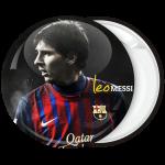 Αθλητική κονκάρδα Messi face