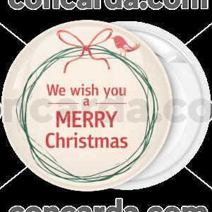 Κονκάρδα Χριστουγέννων Merry Christmas little bird