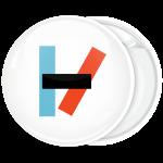 Kονκάρδα Twenty One Pilots logo bold