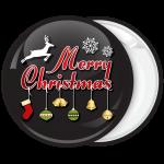 Χριστουγεννιάτικη Κονκάρδα Merry Christmas with decoration