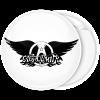 Rock Κονκάρδα Aerosmith λευκή