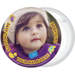 Kid Photo Booth badge button