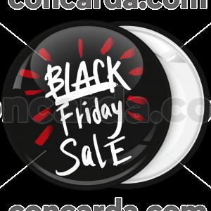 Κονκάρδα Black Friday sale μαύρη
