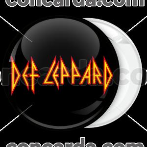 Rock μαύρη κονκάρδα Def Leppard