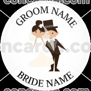Κονκάρδα γάμου ονόματα pose