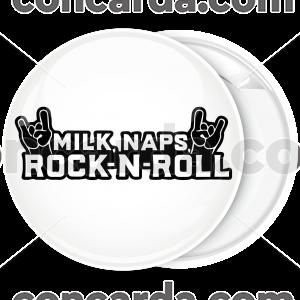 Κονκάρδα Milk naps rock and roll λευκή