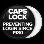 Κονκάρδα Caps Lock