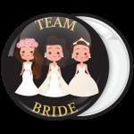 Κονκάρδα bachelor Team Bride the friends μαύρη