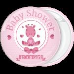 Κονκάρδα baby shower It is a girl ροζ