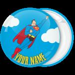 Kονκάρδα βάπτισης Superman flying up