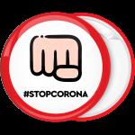 Κονκάρδα stop Corona γροθιά