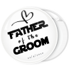 Κονκάρδα father of the groom collection flat λευκή