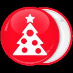 Minimal κονκάρδα Χριστουγεννιάτικο δέντρο